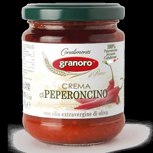 Crema di peperoncino piccante title=