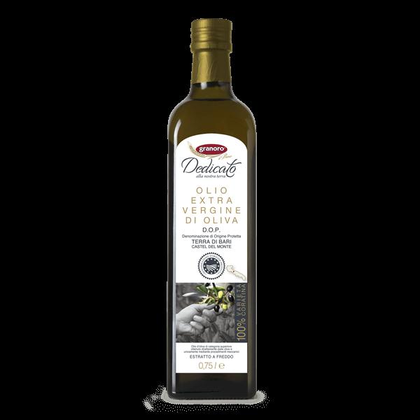 Olio extravergine di oliva D.O.P. dedicato title=