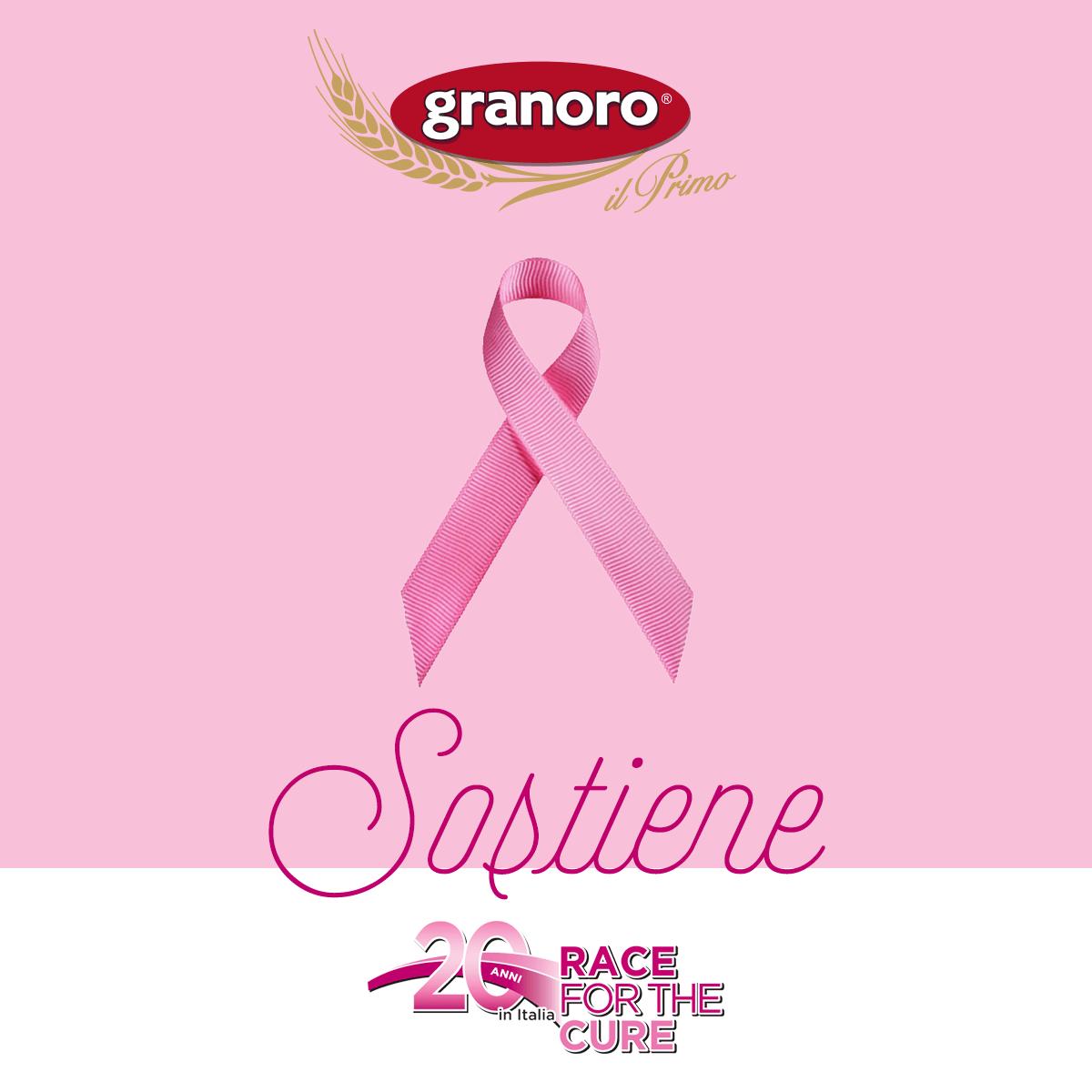 Granoro sostiene Race for the Cure