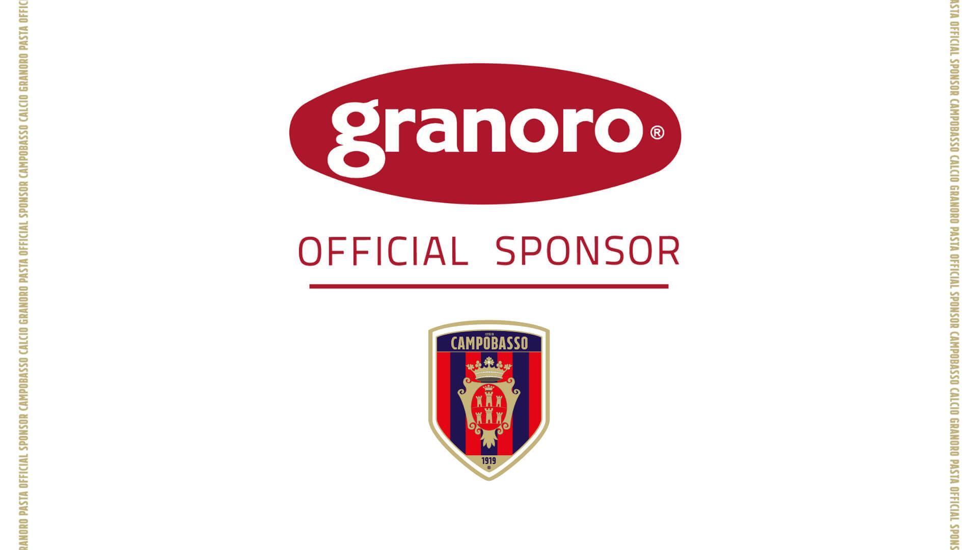 Granoro nuovo Official Sponsor del Campobasso