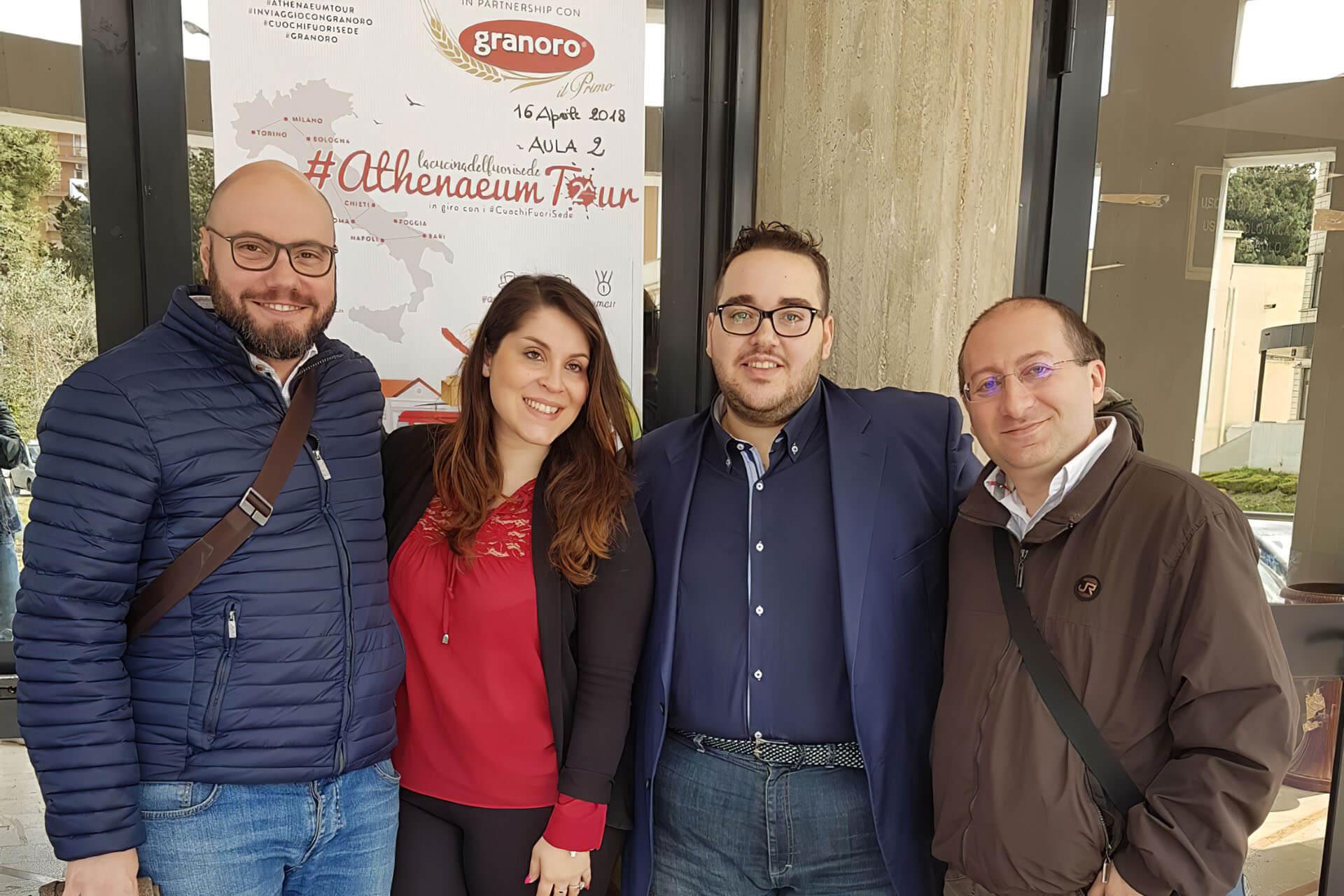 """Granoro Main Partner di """"Athenaeum Tour"""""""