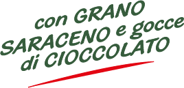 Con Grano Saraceno e gocce di Cioccolato